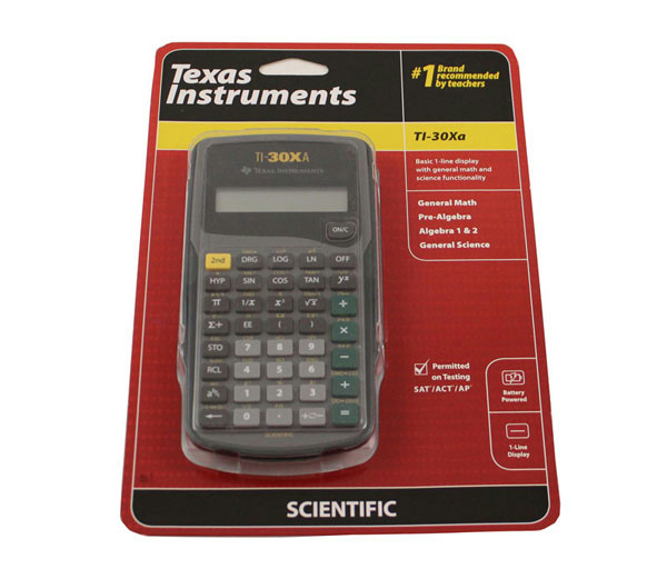 CALCULATOR TI -30Xa (SKU 1000284167)