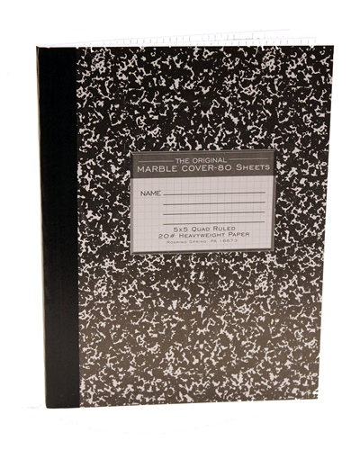 Lab Notebook (Composition Book)