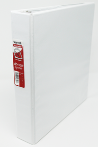 Binder 1.5 Inch 3-Ring White Samsill