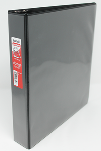 Binder 1.5 Inch 3-Ring Black Samsill