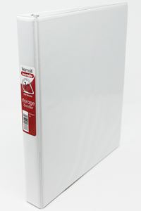 Binder 1 Inch 3-Ring White Samsill
