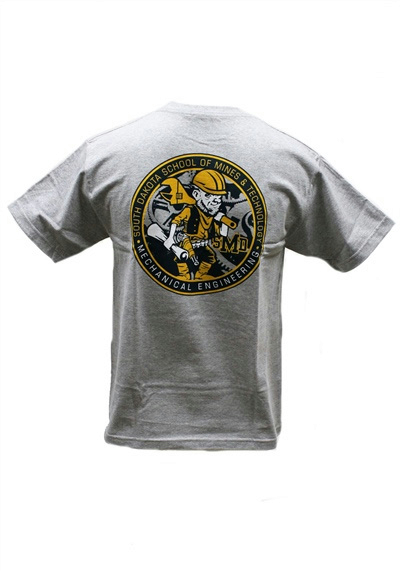 Department Mechanical Engineering T Shirt The Rocker Shop