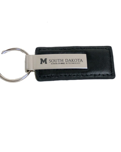 Key Chain - Leather Rectangle