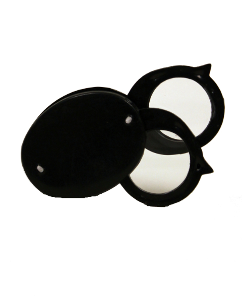 Loupe Economical Folding Double Lens