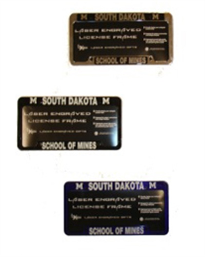 License Plate Frame South Dakota School