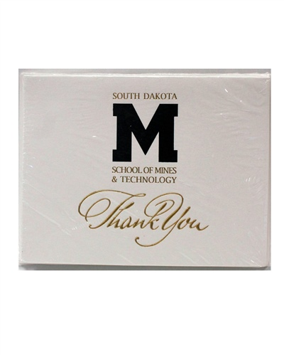 "Card Thank You ""M"" Logo"