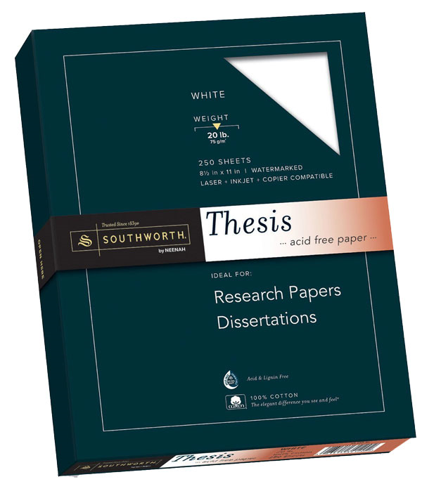 Paper Thesis Southworth