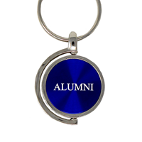 Keychain Spinner Alumni With M Logo