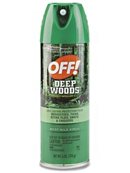 Deep Woods Off! Fly & Mosquito Repellent Aerosol & Pump Spray