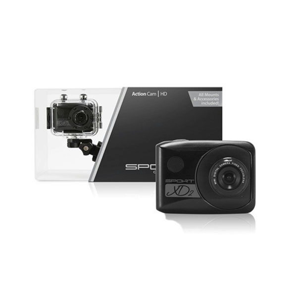 Camera Sport XD Action Cam - Black EOL