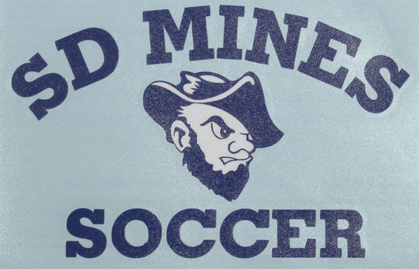 Decal Sd Mines Soccer