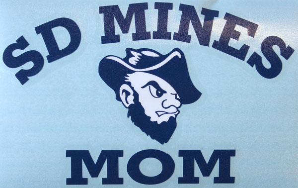 Mom Decal Sd Mines