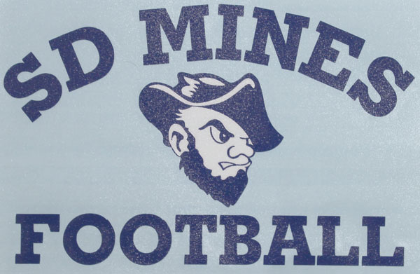 Football Decal Sd Mines