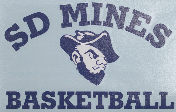 Decal Sd Mines Basketball