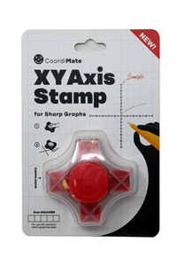 Coordimate Self Inking XY Graph Stamp - Metric