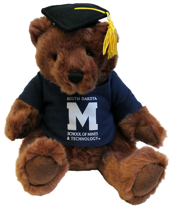 Graduation Bear Mascot Factory