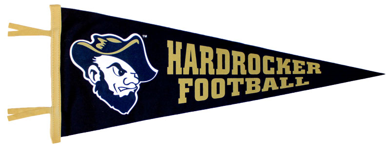 Football Pennant New Grubby Hardrocker