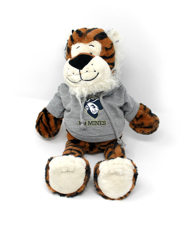 Plush Krazy Kat Tiger With Hoody