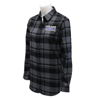 Flannel Shirt Ladies Ci Motif Horizontal