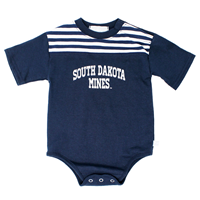 Infant Onesie Stripe Yoke