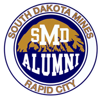 Decal Potter Smd Alumni In Circle