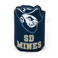Football Can Koozie Spirit Sd Mines Go Rockers