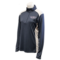 Ladies Quarter Zip Football Alphabroder