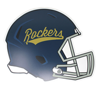 Football Wall Sign Helmet Rockers