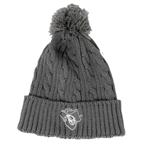 HAT BEANIE CABLE KNIT CI SPORT