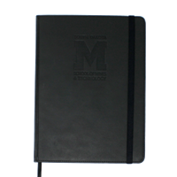 "Journal Large Hardbound Notebook ""M"""