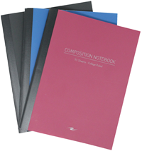 Composition Notebook – College Ruled – Assorted Colors