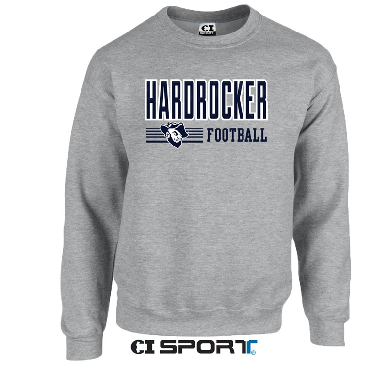 Crew Neck Sweatshirt Football Fudge Ci Sport