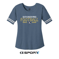Football Ladies T-Shirt Scorecard Sundae