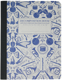 Decomposition Book – College Ruled – Acoustic