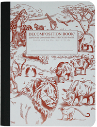 Decomposition Book – College Ruled – African Safari