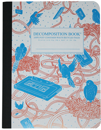 Decomposition Book – College Ruled – Birdsong