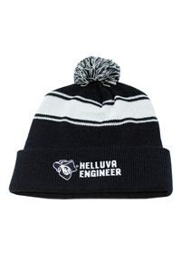 Knit Ci Sport Stripe Beanie Helluva Engineer