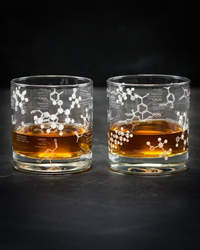 Chemistry Glass - Whiskey (Pair)
