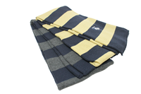 Niagra Striped Knit Scarf Logofit