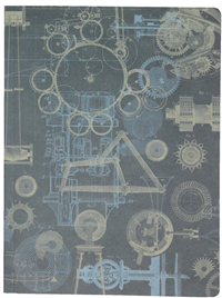 Composition Notebook - Dot Grid - Mechanical Engineering