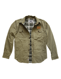 Jacket Field Techstyles Foley Leather Patch