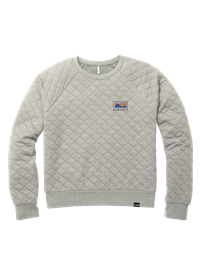 Crew Neck Ladies Quilted Tahoe Techstyles