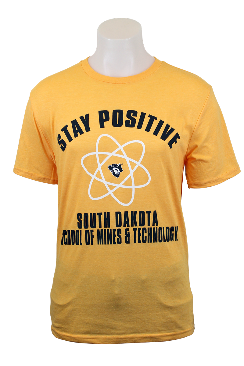 T-Shirt Stay Positive Blue 84 (SKU 1049568121)
