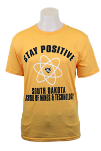 T-Shirt Stay Positive Blue 84