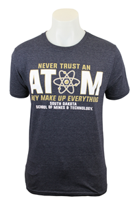 T-Shirt Never Trust Atom Blue 84
