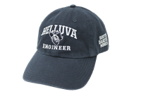 Hat Helluva Engineer Mascot Logo