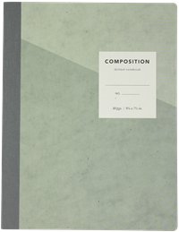 Composition Book Dotted