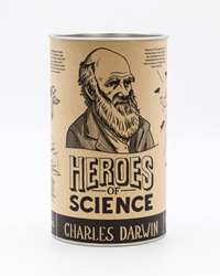 CHARLES DARWIN PINT GLASS
