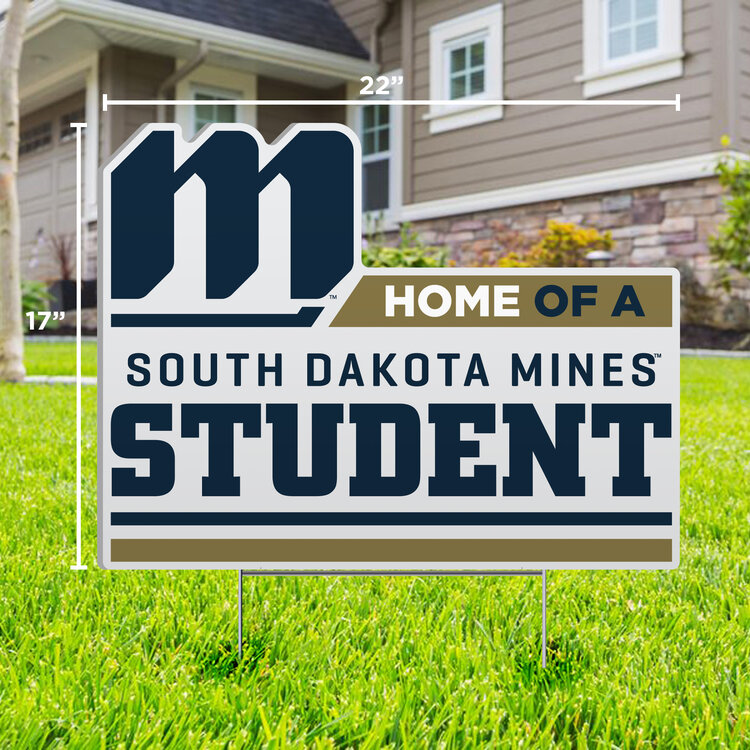 Home Of A South Dakota Mines Student Sdsm-Lwn-10 (SKU 1051460379)