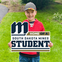 HOME OF A SOUTH DAKOTA MINES STUDENT SDSM-LWN-10